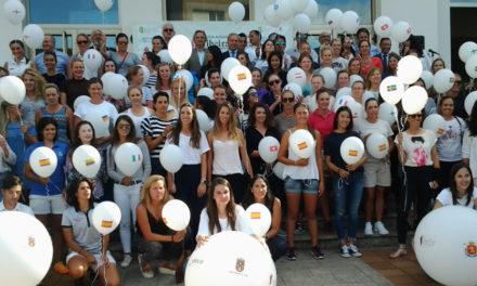 Monforte se vuelca con las jugadoras del V Ribeira Sacra International Ladies Open