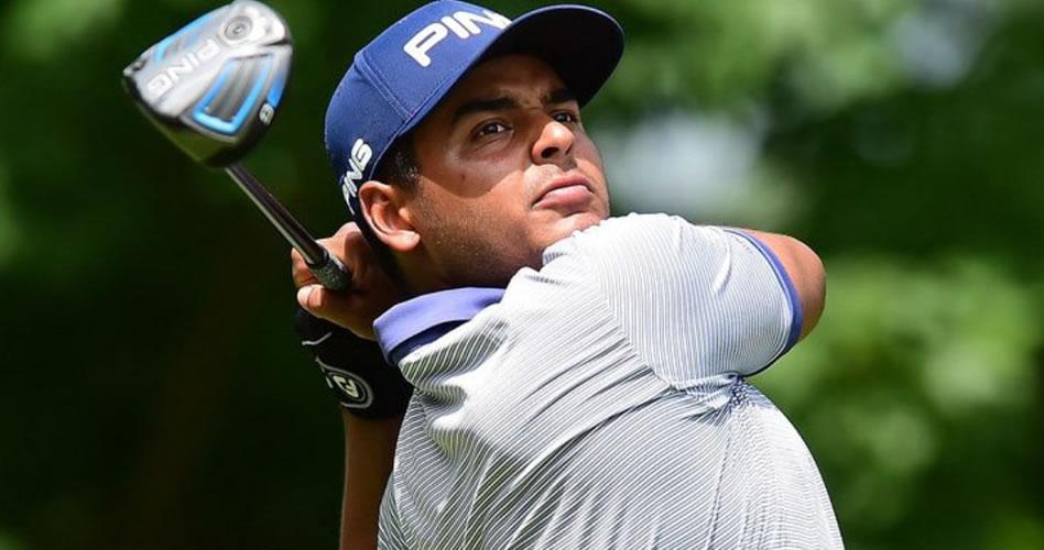 Muñoz hace historia liderando el Greenbrier Classic del PGA Tour