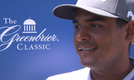 Muñoz se afianza en la punta del Greenbrier Classic del PGA Tour
