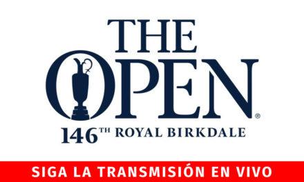 Open TV en directo, sigue la acción en vivo desde el Royal Birkdale