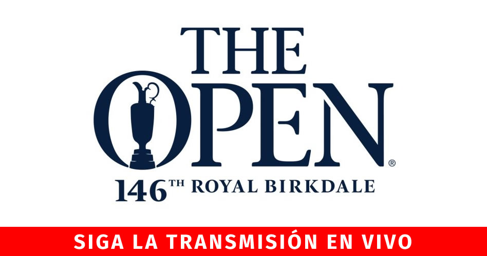 Open TV en directo, sigue la acción en vivo desde el Royal Birkdale
