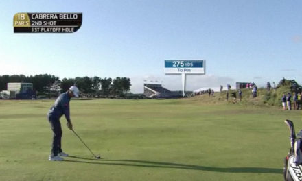Rafa Cabrera Bello: el golpazo con el que ganó el Open de Escocia
