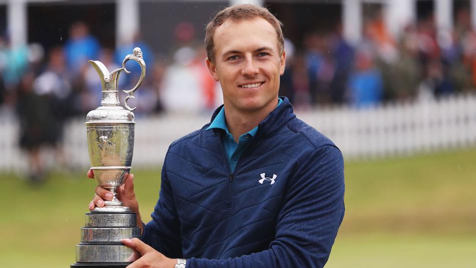 Spieth mostró calidad y alta gerencia para reponerse y ganar The Open (cortesía Golf Channel)