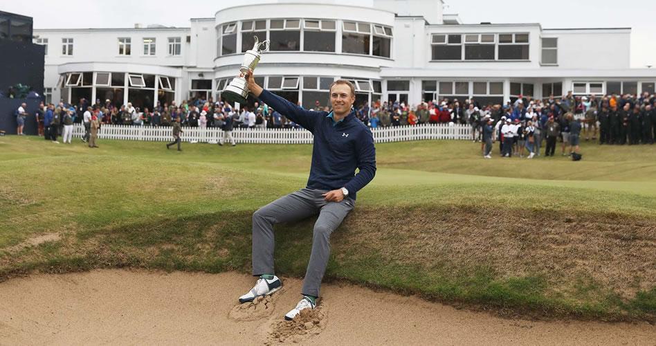 Spieth mostró calidad y alta gerencia para reponerse y ganar The Open