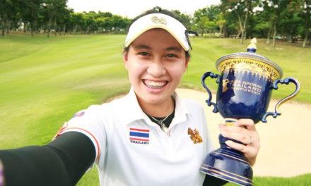 Una tailandesa de 14 años se convierte en la ganadora más joven del Circuito Europeo femenino