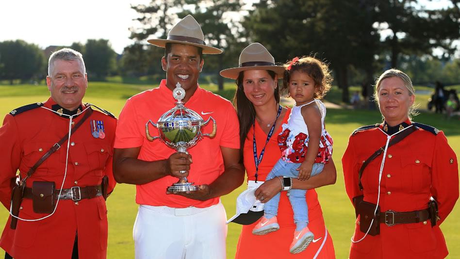 """Vegas gana con """"V"""" de Venezuela su defensa del RBC Canadian Open"""