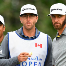 Jhonattan Vegas y Dustin Johnson (cortesía PGA Tour)