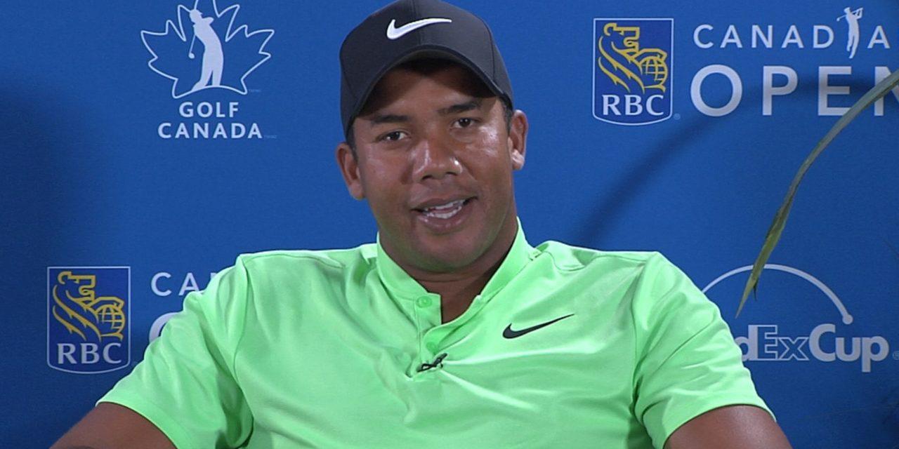 Vegas inició su defensa a uno de los líderes del RBC Canadian Open