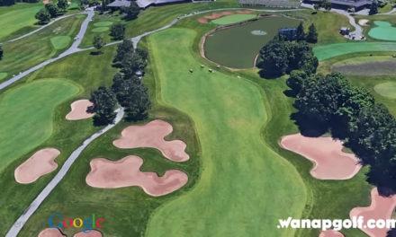 Video, conozca, a vista de pájaro, el Glen Abbey GC, campo Nicklaus que acoge el Canadá Open