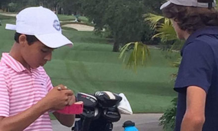 Virgilio Paz en el Optimist International Junior Golf Championships