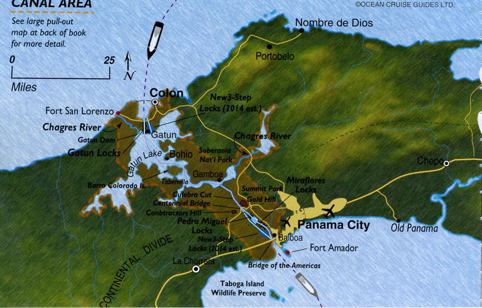 5 Razones para cruzar y disfrutar del Canal de Panamá (cortesía Fred Henstridge Photography)