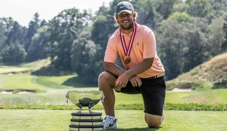 Zach Bauchou (cortesía golfcanada.ca)