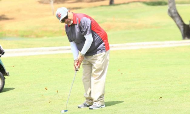 Alfanno, un enamorado del golf