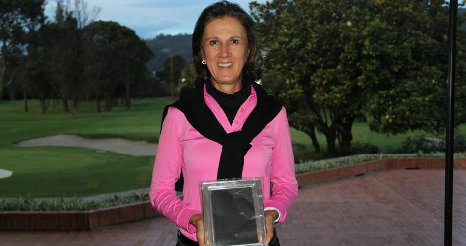 Ana María González de Llano ganó el Campeonato Nacional de Damas Senior 2017