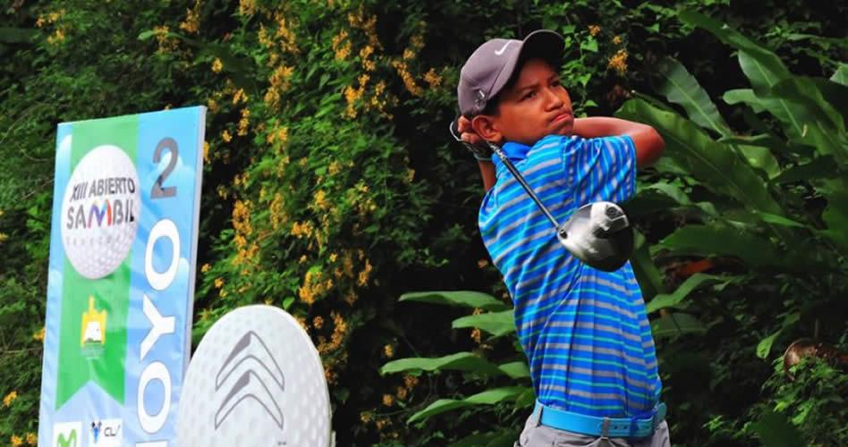 Atleta indígena va con el golf a Juegos Sudamericanos de la Juventud