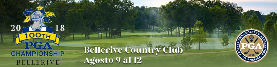 PGA Championship, Bellerive Country Club. Agosto 9 al 12