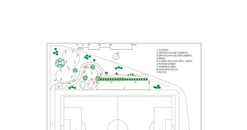 Comienzan las obras del nuevo campo de golf municipal de Córdoba en el Fontanar