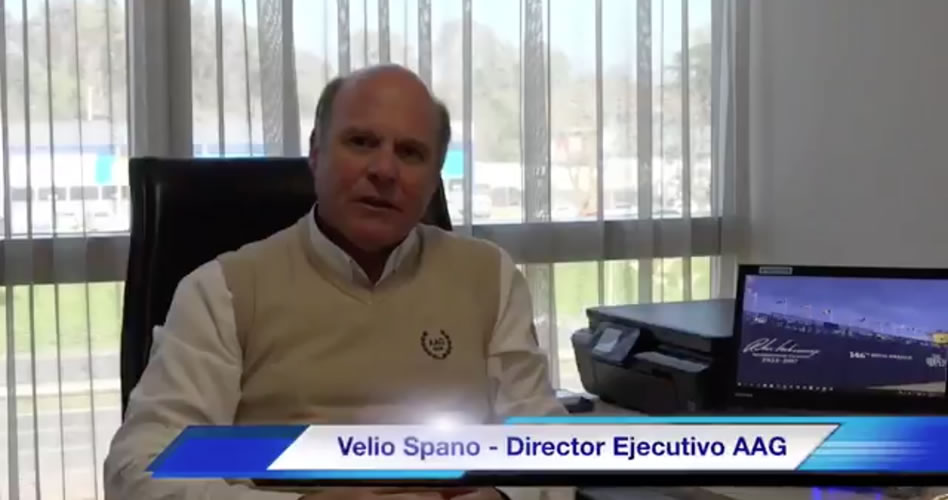 Conversando con director ejecutivo de la Asociación Argentina de Golf