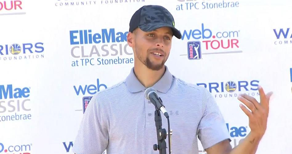 Curry dejó substantiva impresión en el Web.com Tour