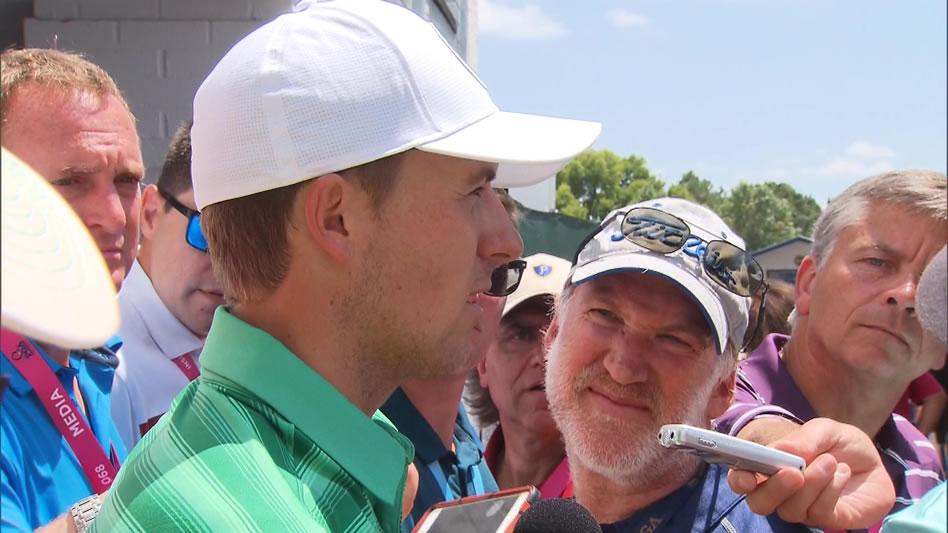 Jordan Spieth (cortesía Golf Channel)