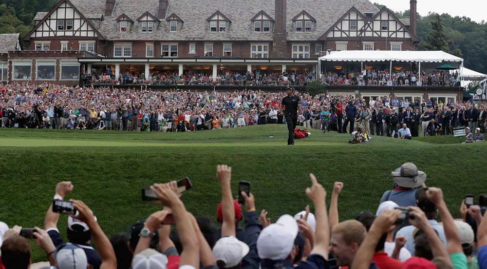 Dos adelante en el 99º PGA Championship (cortesía Roadtrips)