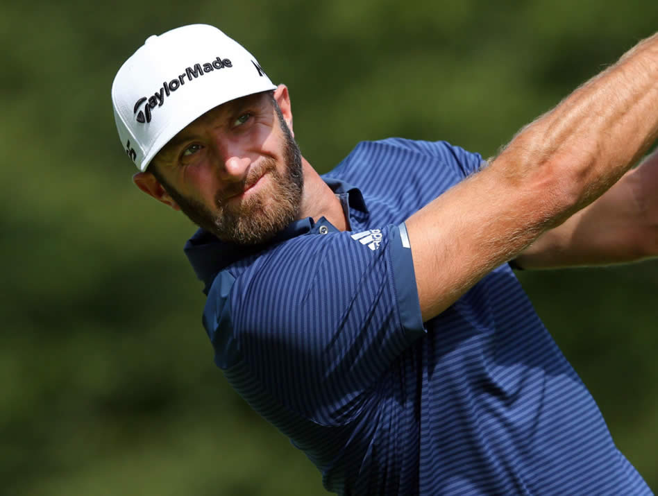 Dustin Johnson (cortesía The Score)