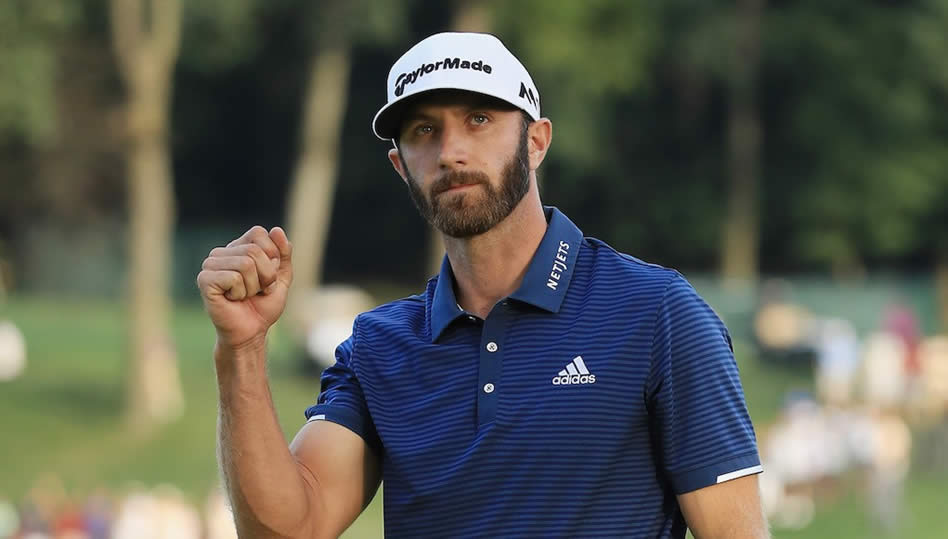 Dustin Johnson (cortesía GolfWRX)