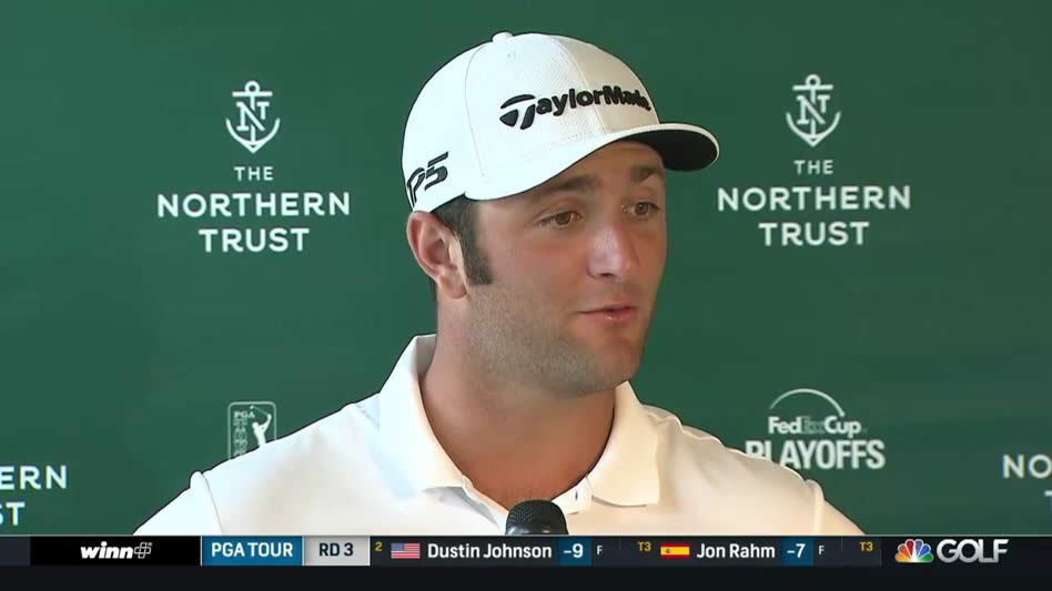 Jon Rahm (cortesía Golf Channel)