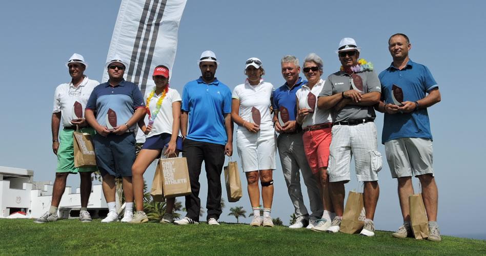 El Torneo Adidas de Golf recibió en Lanzarote Golf a 75 participantes de diversos clubes