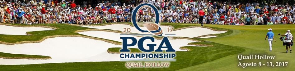 PGA Championship, Quail Hollow. Agosto 8-13