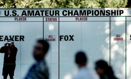 Horarios de salida del 117º US Amateur Championship que se disputará del 14 al 20 de agosto en California