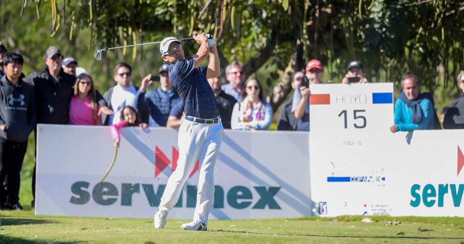 Fabrizio Zanotti (PAR) no defraudó a su público y fue el mejor local en el Abierto del Paraguay Copa NEC presentado por Audi Diesa / Gentileza: Enrique Berardi/PGA TOUR