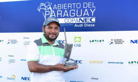 José de Jesús Rodríguez hace historia en el Abierto del Paraguay Copa NEC presentado por Audi Diesa