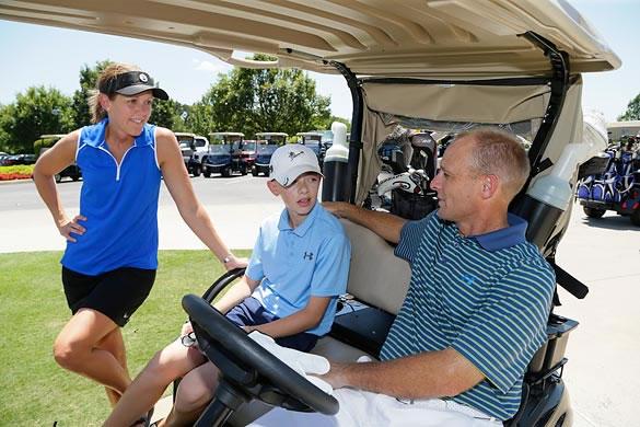 Familia Karch (cortesía Golf Oklahoma)
