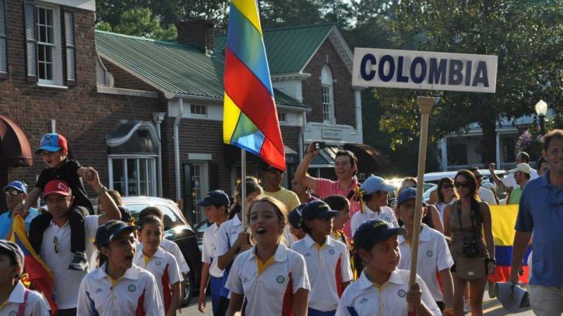 Delegación de Colombia (cortesía Visit NC)