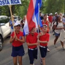Delegación de Costa Rica Golf (cortesía Costa Rica Star)