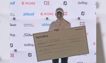 Luna Sobrón gana en desempate el Castellum Ladies Open