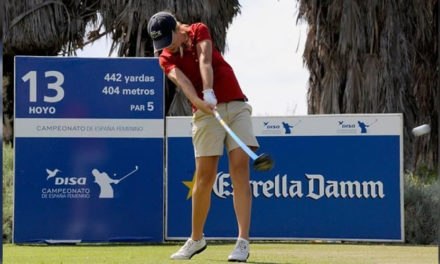 Luna Sobrón se acerca al top ten en el Castellum Ladies Open
