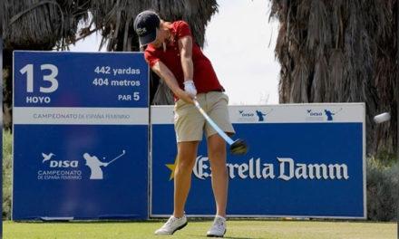 Luna Sobrón se acerca al top ten en el Castellum Ladies Open