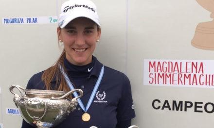 ¡Magdalena Simmermacher Campeona!