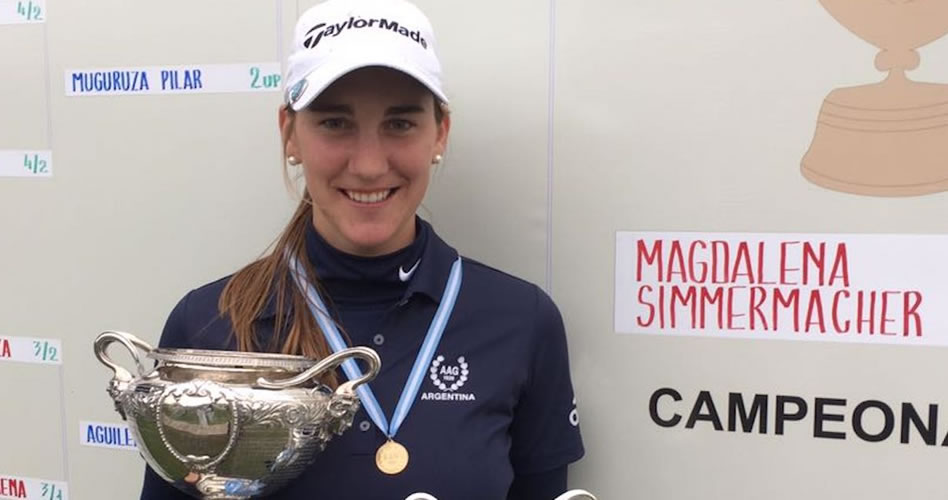 ¡Magdalena Simmermacher Campeona!