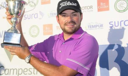 Marcelo Rozo ganó el Abierto de Medellín de golf
