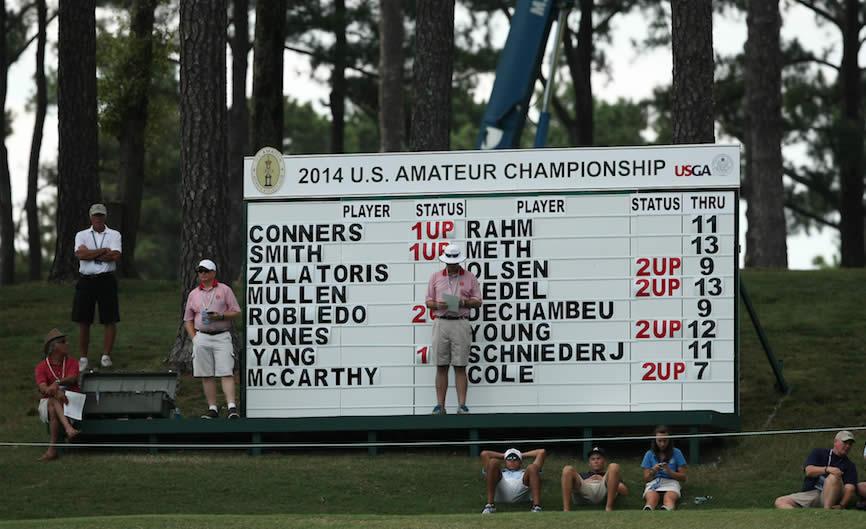 Niemann avanza a siguiente etapa del 117º US Amateur (Cortesía Golf Week)