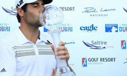 """Otaegui: """"Siempre soñé con estar entre ganadores españoles de torneos como Seve, Sergio y Olazábal"""""""