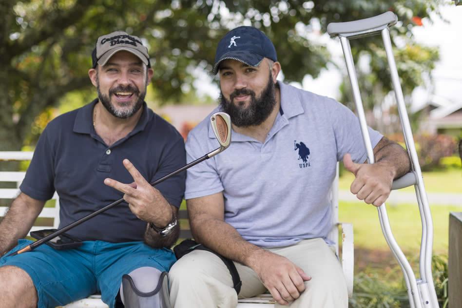 André Cardoza disfrutó su primer día de entrenamiento junto a Juan Esteban Ocampo. (JOSÉ CORDERO)