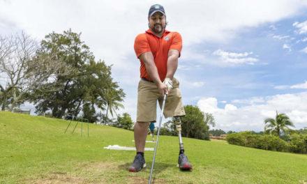 Para el golf amputado no hay excusas