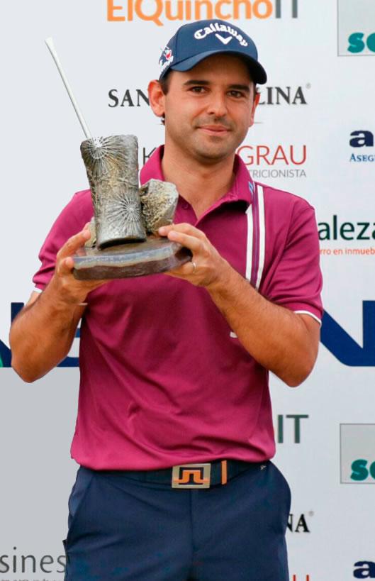 Fabrizio Zanotti fue el campeón hace dos años y en este 2017 volverá para quedarse nuevamente con este Abierto del Paraguay Copa NEC presentado por Audi Diesa.