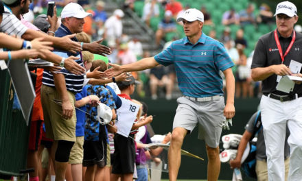Spieth comanda expectativas para 4to major del año