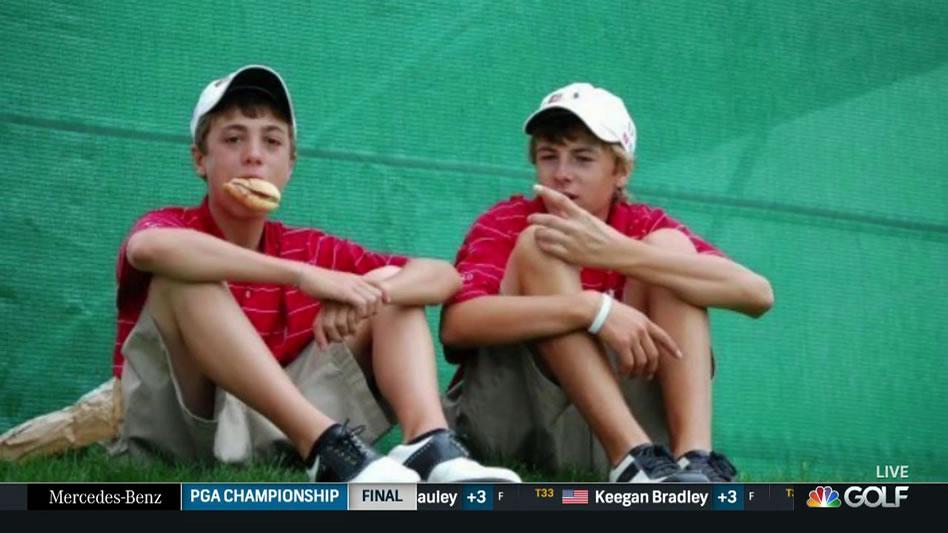 Justin Thomas y Jordan Spieth (Cortesía Golf Channel)