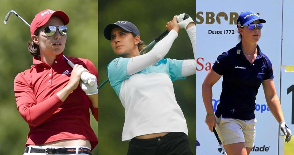 Tres jugadoras buscan el primer 'major' femenino para España